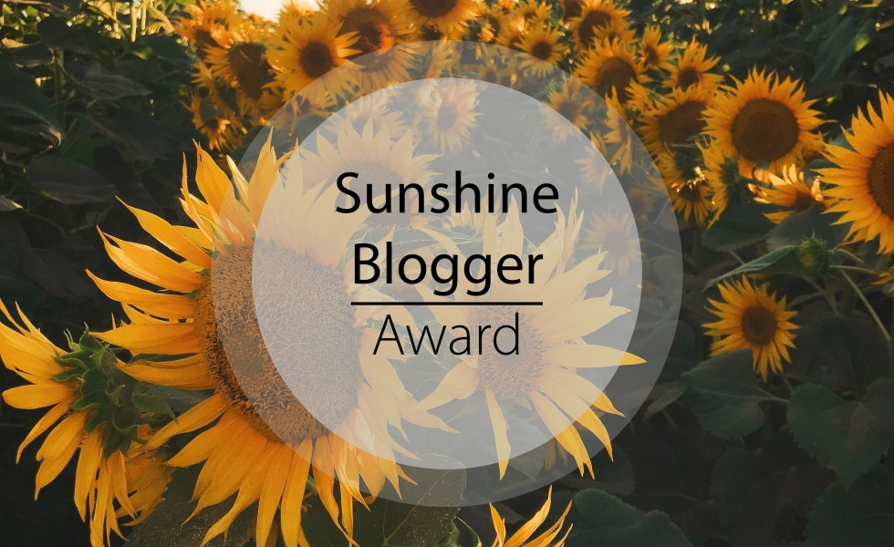 Image result for sunshine blogger award